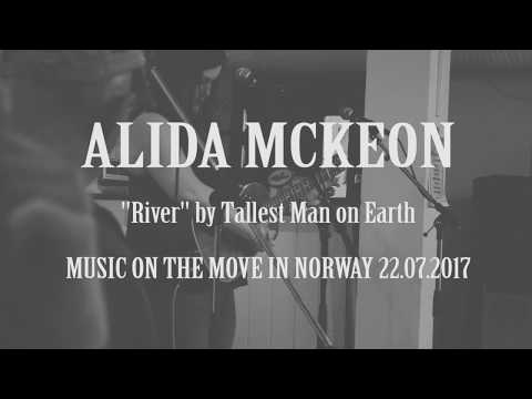 River, Tallest Man on Earth cover, by Alida Mckeon