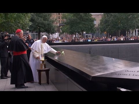 Pope Francis Leads Moving Prayers at 9/11 Memorial