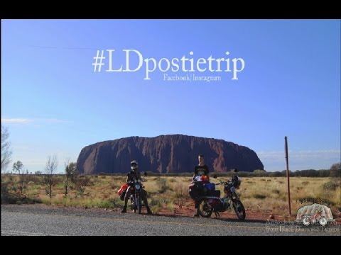 Postie Bike Trip - Melbourne to Uluru - Feb/March 2016