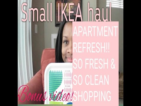 Bonus Video: Small IKEA Haul - Apartment Refresh Shopping Trip
