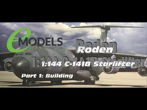 Roden 1/144 Lockheed C-141B Starlifter (# 325) Part 1: The Build