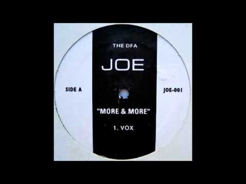 (2004) Joe - More & More [The DFA Vox RMX]