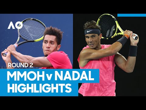 Michael Mmoh vs Rafael Nadal Match Highlights (2R) | Australian Open 2021
