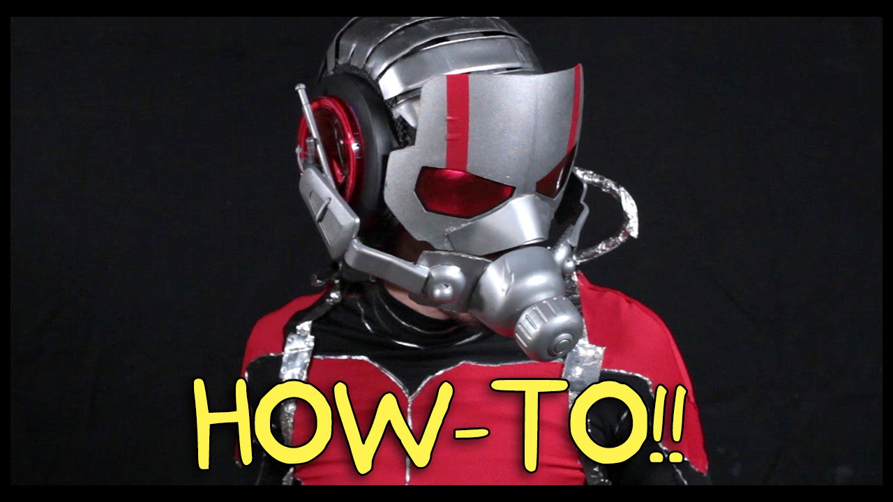 Make your own ant man suit homemade how to youtube solutioingenieria Choice Image