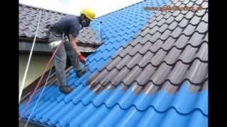 Malowanie dachów, impregnacja dachówki tel. 602-215-364 Śrem, Poznań, cała wielkopolska