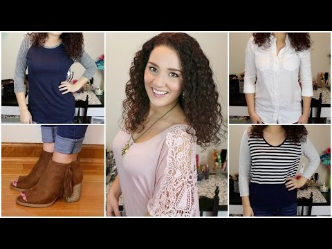 Fall Try-On Fashion Haul: Forever21, Charlotte Russe, Kohl's