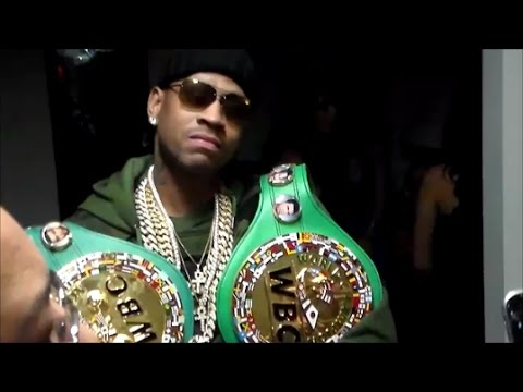 ALLEN IVERSON ROCKIN' DANNY GARCIA'S TITLES; SHOWS PHILLY SUPPORT AT GARCIA VS. VARGAS