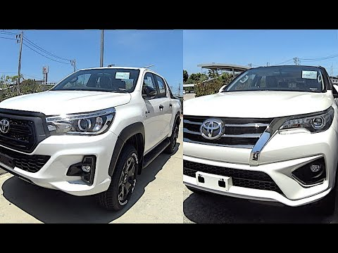 2019 Toyota Fortuner 2019 Toyota Hilux Rocco 2019 Suv