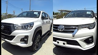 2019 Toyota Fortuner, 2019 Toyota Hilux Rocco, 2019 SUV, Pickup