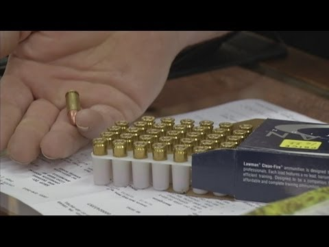 Stores holding ammo due to new gun law