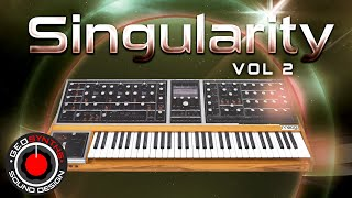 Moog ONE - Singularity Vol 2 - Patches 1 to 32 - GEOSynths