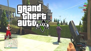 GTA 5 First Person Team Deathmatch With The Crew!!! (GTA 5 Online Pistol Match)