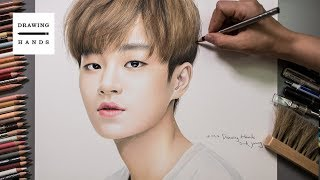 Speed Drawing Wanna One - Lee Dae Hwi [Drawing Hands]