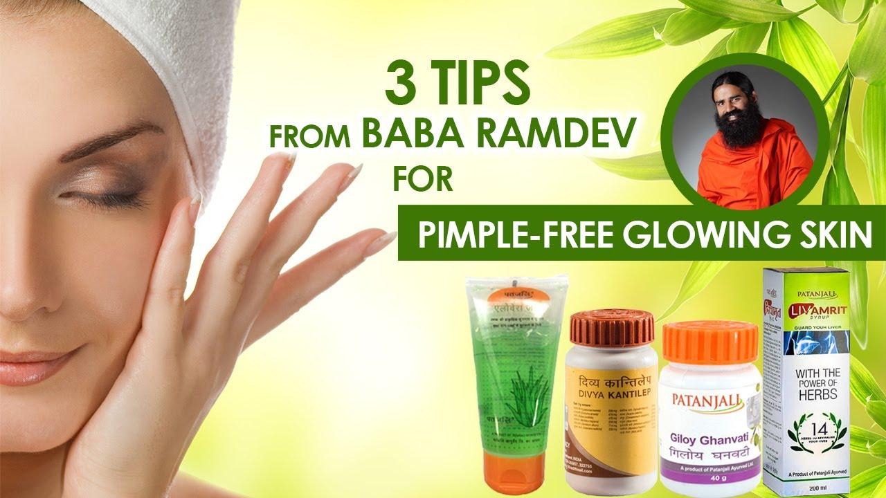 12 Tips From Baba Ramdev For Glowing Skin  Healthfolks.com - YouTube