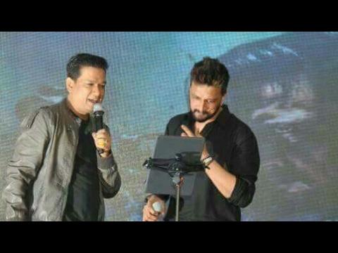 KICHCHA SUDEEP and VIJAY PRAKASH singing together at G.A.T INTERACT Fest Bengaluru  Hello Hello song