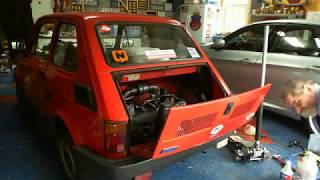 Fiat 126p W Usa. Jak Nie Naprawiać Samochodu Live. Wymiana Oleju W Silniku I Skrzyni