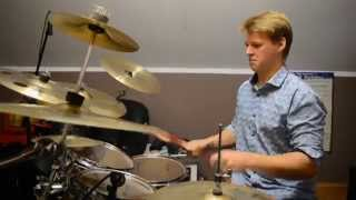 Dorian Działach solo na perkusji 16 years old solo on drums