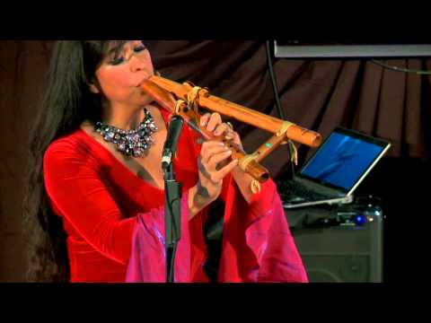 Flutes and beatbox - from body casts to stages of the world: Viviana Guzman at TEDxConstitutionDrive