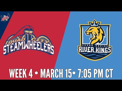 Week 4 | Quad City Steamwheelers at Cedar Rapids River Kings
