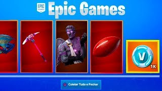 * NEW * Now it is possible to get Skins for free at Fortnite..!