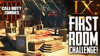 Black Ops 4 Zombies: 'IX' First Room Challenge!