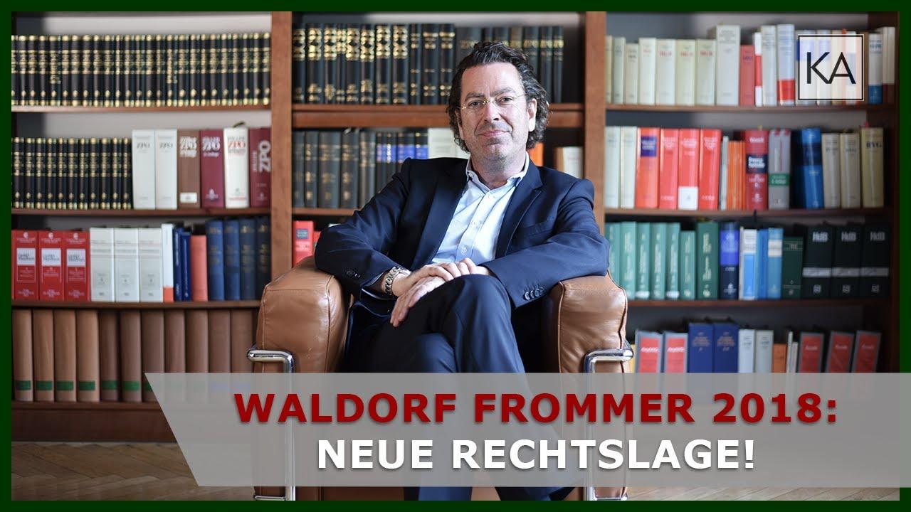 Waldorf Frommer 2018 Die Neue Rechtslage Störerhaftung Abgeschafft