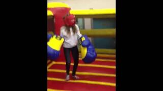 Sky high amusements bouncy boxing