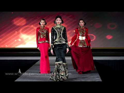 World Supermodel Fashion Show - Mongolia Bridal Wear