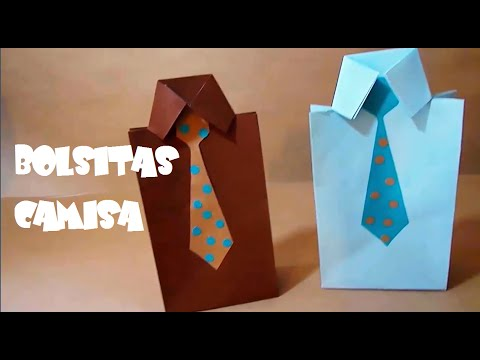 BOLSITAS DULCEROS CAMISA DE PAPEL/DIA DEL PADRE/CURIOCITY - YouTube