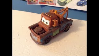 Disney Cars Mater with duct Tape (super chase) Review