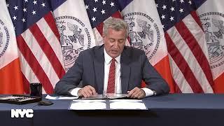 Mayor de Blasio Holds Bill Hearing and Signing