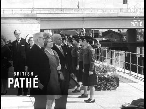 Tay Bridge Has Royal Opening (1966)