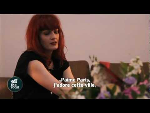 OFF THE ROAD - Florence and The Machine Interview à l'Olympia
