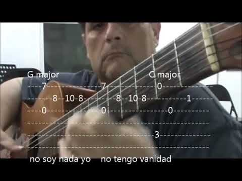 SABOR A MI MEXICO GUITAR TABS AND CHORDS - YouTube