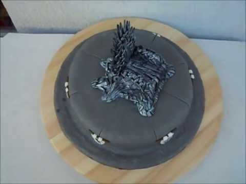 motivtorte game of thrones cake the iron thron. Black Bedroom Furniture Sets. Home Design Ideas