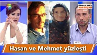 Hasan, eşiyle kaçan Mehmet'le canlı yayında yüzleşti!
