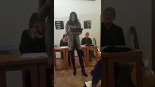 """""""BEATRICE"""" di Izabella Teresa Kostka,  Spazio Alda Merini a Milano,  """"La parola come seconda pelle"""""""