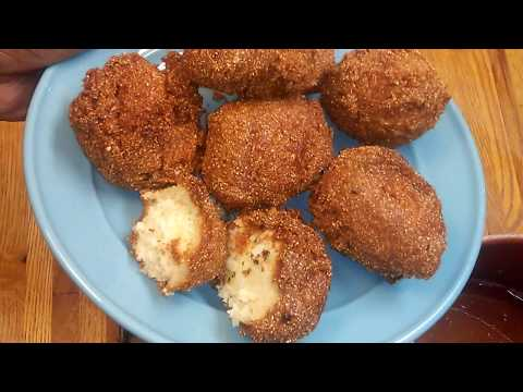 How To Make Hush Puppies - Simple Cooking With Eric