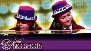 Pianists Elias and Zion Have a Mane Like a Lion | Best Little Big Shots