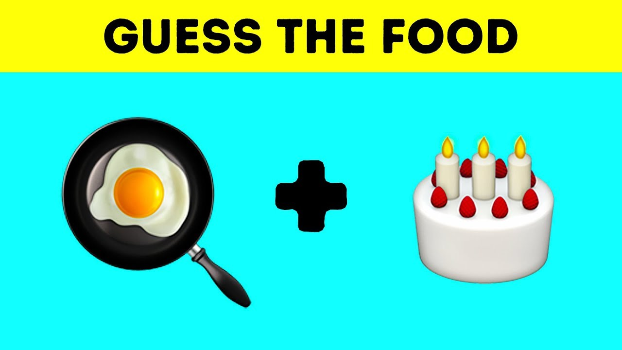 Tricky Food Riddles And Guess The Emoji Games Nobody Can