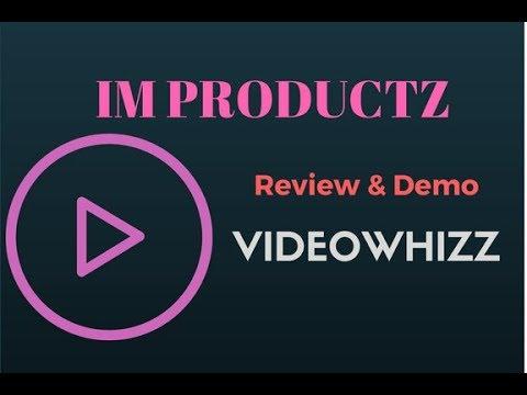 VideoWhizz Video Marketing Tool - Review and Demo. http://bit.ly/30Mjj3V