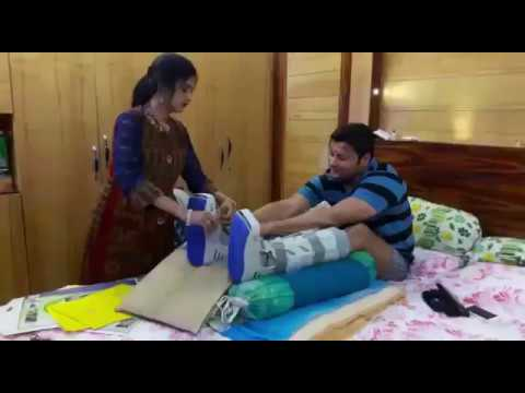 SUPERSTAR ANUBHAV UNABLE TO STAND ON HIS...