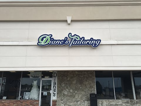 OMG!! Exciting Day for Diane's Tailoring!! Thanks Omaha Signworks for my beautiful sign!!