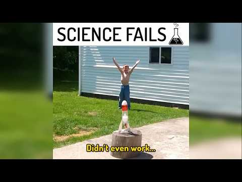 Epic fails science  (try to not laugh Challenge)