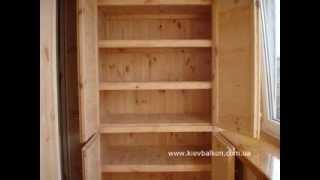 Обшивка балконов и лоджий деревянной вагонкой(Обшивка балконов и лоджий деревянной вагонкой Укладка деревянного пола на балконе и в лоджии Утепление..., 2011-11-27T22:06:00.000Z)