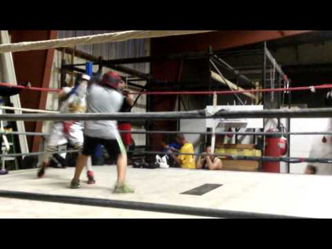 Sparring At The Dungeon Boxing Club