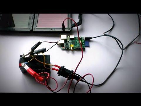 Solar/Battery Powered Raspberry Pi
