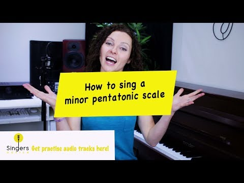 How to sing a minor pentatonic scale // Singers Advice