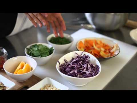 Carrot, Red Cabbage And Beetroot Salad By Chef Cassandra