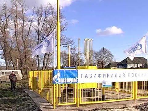 Дрова и уголь — в прошлом  Глушковский район газифицирован на 100%